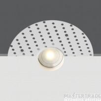 One Light 10101TR/W/W WHITE LED 1W WW IP44 350mA 45deg TRIMLESS DARK LIGHT