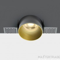 One Light 10105TR/BS BRASS TRIMLESS GU10 50W DARK LIGHT
