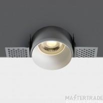 One Light 10105TR/W WHITE TRIMLESS GU10 50W DARK LIGHT