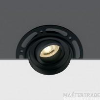 One Light 11105TR/B BLACK GU10 50W TRIMLESS