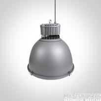One Light 63200A/G/C 200W Circular LED High Bay 4000K 13037lm Grey IP65