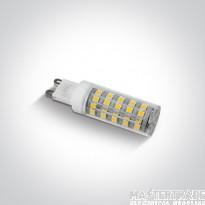 One Light 7106ALG/C G9 LED 6w CW 230v