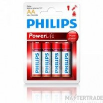 Philips AA -LR03Power Life Battery