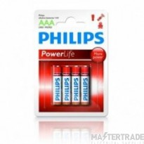 Philips AAA -LR03 Power Life Battery