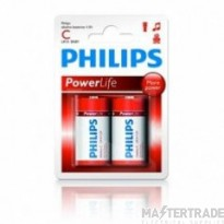 Philips LR14 -CPower Life Battery