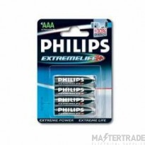 Philips AAA - LR03Extreme Life Battery