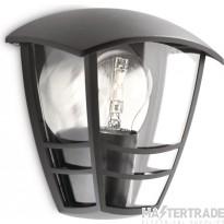 Philips 153873016 Wall Lantern E27 60W
