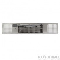 Consort PHRX3S Heatstream Plinth Fan Heater Stainless Steel