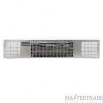 Consort PHRX2S Heatstream Plinth Fan Heater Stainless Steel