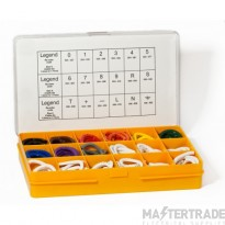 PAL/B Box Containing 4500 PA1 Markers (Numbers Colour Coded)