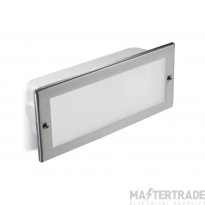 LEDS C4 PX-0465-INO Wall Recessed Tamesis Stainless Steel 1 X E27 60