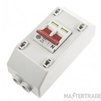 WYLEX REC2S DP SLIMLINE METERED SUPPLY ISOLATOR 100A