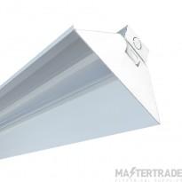 Masterlite MTSB25/840/REF 25W IP20 LED Batten 4FT Single 4000K  with Reflector