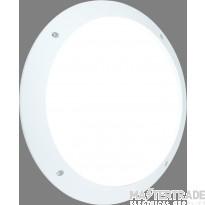 Saxby 55691 Seran Plain Outdoor Wall Light in White