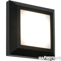 Saxby 61218 Severus Square Outdoor Guide Wall Light in Black