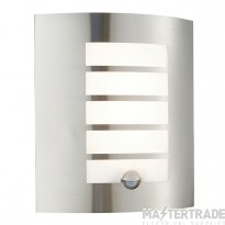 Bianco Led Pir 1Lt Wall Ip44 7W Warm White