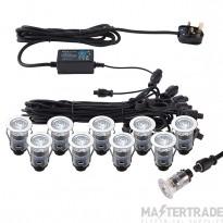 Ikonpro Cct 6500K/Blue 25Mm Kit Ip67 0.75W Cct