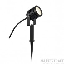 Luminatra Spike Black Ip65 4W Cool White