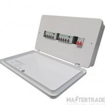 Square D Easy9 2+5+5 Consumer Unit - c/w 2x 100amp Rcd's & 8 MCB's