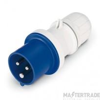 Scame 213.1633 Plug 2P+E 16A Blue