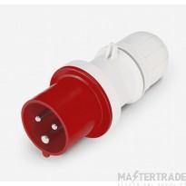 Scame 213.1638 Plug 2P+E 16A Red