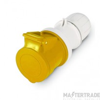Scame 2P+E 16A Yellow IP67 Industrial Connector 313.1640P