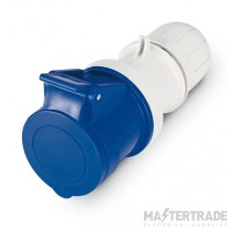 Scame 2P+E 16A Blue IP67 Industrial Connector 313.1643P