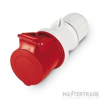 Scame 2P+E 16A Red IP44 Industrial Connector 313.1648P