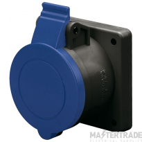 Scame 423.1663.K Socket 2P+E 16A Blue