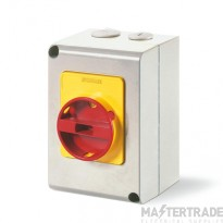Scame 590.EM2013 Rotary Isolator TP Enclosed 20A