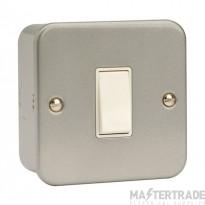 Click Metal Clad 10AX 1 Gang Intermediate Switch CL025