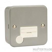 Click Metal Clad 3A Connection Unit Flex Outlet CL049