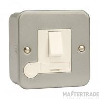 Click Metal Clad 13A Connection Unit Switched Flex Outlet CL051B