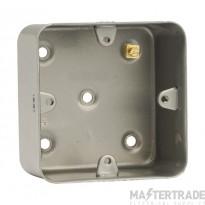Click Metal Clad 40mm Box 1 Gang Metalclad CL085