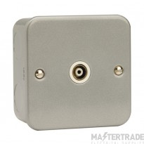 Click Metal Clad Single Isolated Coaxial Socket CL158