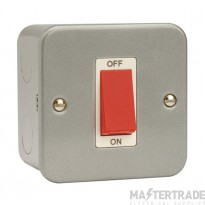 Click Metal Clad 45A 1 Gang Single Cooker Switch CL200