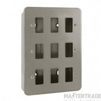 Click Metal Clad 9 Gang Grid Pro Front Plate CL20509