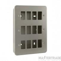 Click Metal Clad 12 Gang Grid Pro Front Plate CL20512