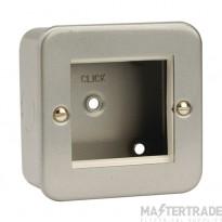 Click Metal Clad New Media Twin Aperture Plate CL311