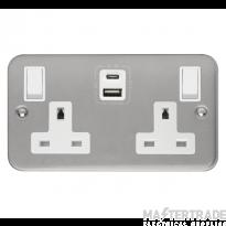 Click CL786 Skt 2G Swd & USB 13A Met