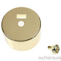 Click CV216BR Cover for CA/PRC216 Brass