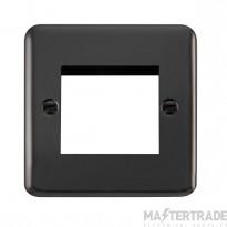 Click Deco Plus Black Nickel New Media Twin Plate DPBN311