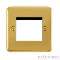 Click Deco Plus Polished Brass New Media Twin Plate DPBR311