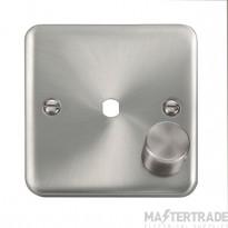 Click Deco Plus 1 Gang Empty Dimmer Plate & Knob DPSC140PL