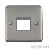 Click DPSS402GY Frontplate 1G 2Aperture