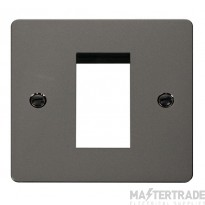 Click Define Black Nickel New Media Single Plate FPBN310