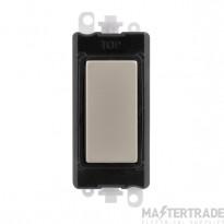 Click Grid Pro GM2008BKPN Blank Module Black Pearl Nickel