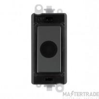 Click Grid Pro GM2017BKBN 20A Flex Outlet Module Black B/Nickel