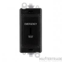 Click GridPro 20AX Switch DP Key Emergency Test Module Black GM2046BKET