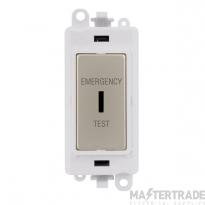 Click GridPro 20AX Switch DP Key Emergency Test Module Pearl Nickel GM2046PWPNET